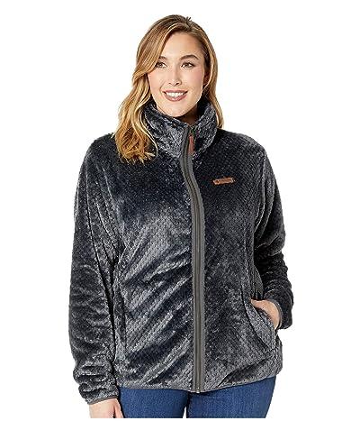 Columbia Plus Size Fire Sidetm II Sherpa Full Zip (Shark) Women