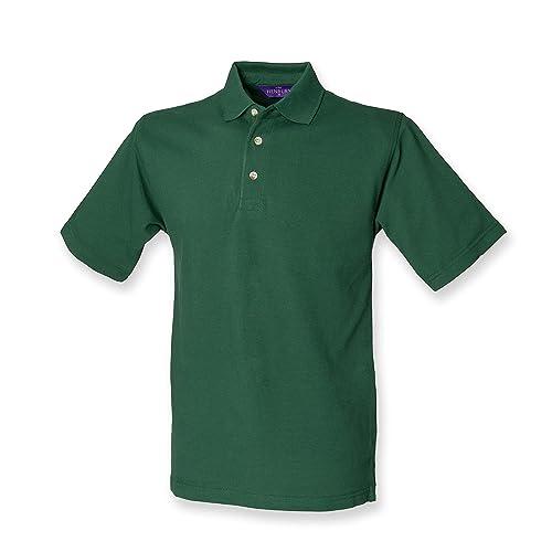 c2bd9f47 Henbury Mens Classic Heavy Cotton Pique Polo Shirt
