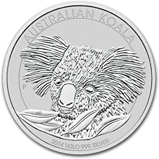 2014 AU Australia 1 kilo Silver Koala BU Silver Brilliant Uncirculated