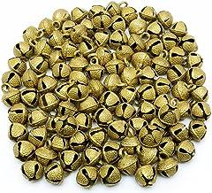 AzKrafts Lot of 50 Pcs Vintage Indian Camel Horse Sheep Sleigh Brass Bells 22mm Ht D�cor