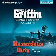 Hazardous Duty: Presidential Agent Series, Book 8