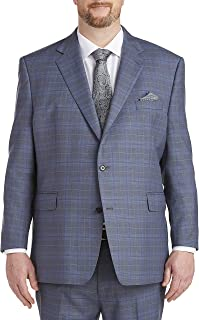 Shadow Plaid Suit Jacket