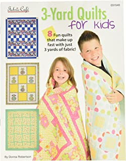 Fabric Cafe Three Yard 3 Yard Quilts for Kids Bk, 9 x 12, Multi Colored