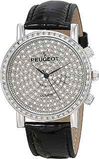 ساعة بيجو J6369SBK انالوج كوارتز ياباني سوداء للنساء