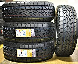 Set of 4 (FOUR) Mazzini Giantsaver A/T All-Terrain Radial Tires-LT315/70R17 121/118R LRE 10-Ply