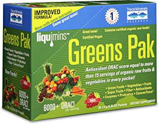 Trace Minerals Research PGG02 - Greens Pak, 30 Packets (Berry)