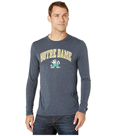Champion College Notre Dame Fighting Irish Field Day Long Sleeve Tee (Navy) Men