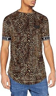 Gianni Kavanagh Herren Leopard Savage Hoodie Kapuzenpullover