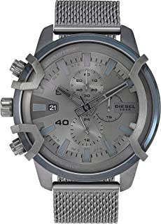 Griffed Chronograph Stainless Steel Watch - DZ4536