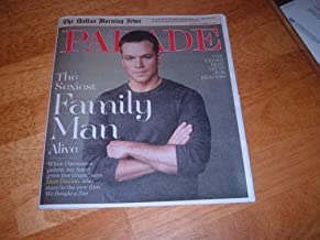 Parade Magazine, December 11, 2011 - The Sexiest Family Man Alive (
