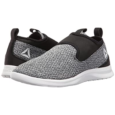 Reebok DMX Lite Walk Slip (Black/White) Women