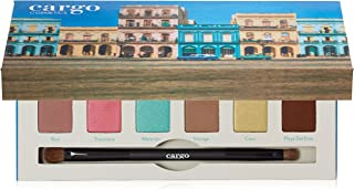 Cargo Havana Nights High Pigment Eye Shadow Palette, Smudge-Proof, Transfer-Proof, Longwear, Crease-Proof, Limited Edition, 0.35 lb.