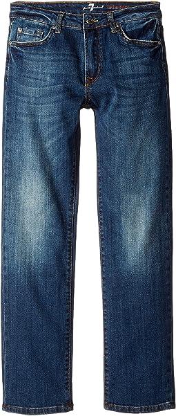 7 For All Mankind Kids - Standard Jean in Seaside Vintage (Big Kids)
