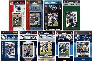 C&I Collectables NFL 田纳西泰坦队*收藏卡队套装