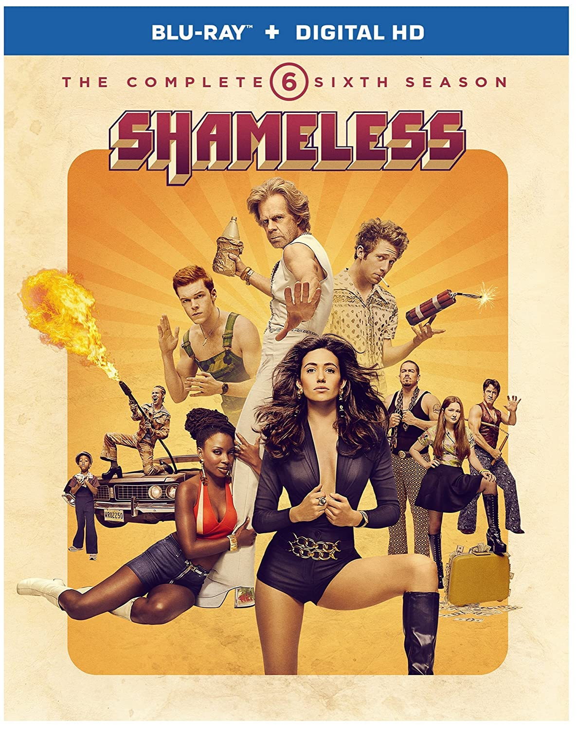 Shameless: Free Shipping New The Complete Sixth Blu-ray Ranking TOP13 Season