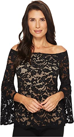 Karen Kane - Off the Shoulder Bell Sleeve Top