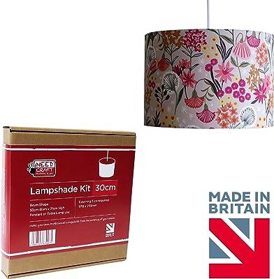Set de decoración, incluye una pantalla de 30 cm para una lámpara ...