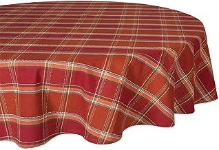 DII CAMZ10885 100% Cotton Fall Tablecloth, 70
