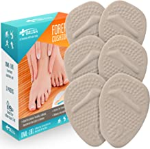 Ball of Foot Cushion Inserts (3 Pairs) - Metatarsal Pads for Men and Women - Foot Pain Relieve Sticky Shoe Pads - Comfortable Anti Slip Shoe Insoles - Shoe Adhesive Pads
