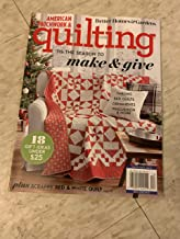 American patchwork & quilting magazine December 2019