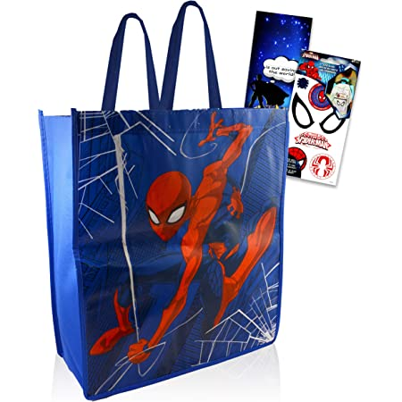 DC Comic Group Heroes Carry Bag  Tote Bag  Market Bag  Book Bag  Carry All
