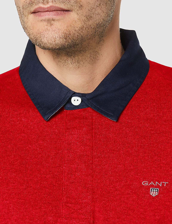 GANT Mens The Original Heavy Rugger Sweater