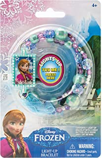 Disney Frozen Anna Light Up Bead Bracelet