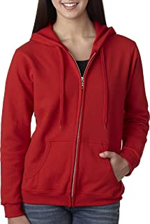 Best red zip hoodie women's Reviews