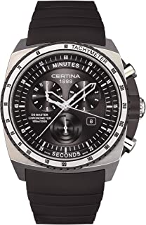 Certina Mens Watch Certina Ds Master Chronograph Rubber C015.434.27.050.00