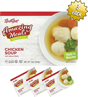 Kosher Meals, Ready to Eat, 3 pack (Chicken Soup pack of 3)
