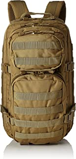 Mil-Tec Military Army Patrol Molle Assault Pack Tactical Combat Rucksack Backpack Bag 20L Coyote Tan