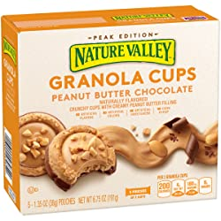 Nature Valley Peak Edition Granola Cups, Peanut Butter
