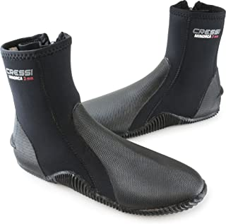Cressi Tall Neoprene Water Sport Zipped Boots with Anti-Slip Rubber Sole | Minorca: Quality Since 1946