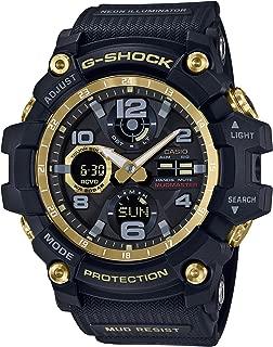 CASIO G-Shock GWG-100GB-1AJF MUDMASTER Black & Gold Series Solar Radio Multiband6 Watch (Japan Domestic Genuine Products)