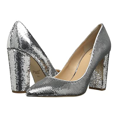 Jewel Badgley Mischka Luxury (Silver Sequin) High Heels