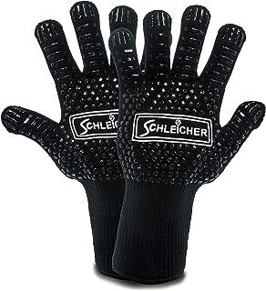 ACTIVA Schleicher rękawice do grilla, odporne na wysokie temperatury do 800 °C, wyjątkowo odporne na wysokie temperatury, ...