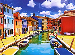 1000 pieces jigsaw puzzle for adults artistic Venice painting