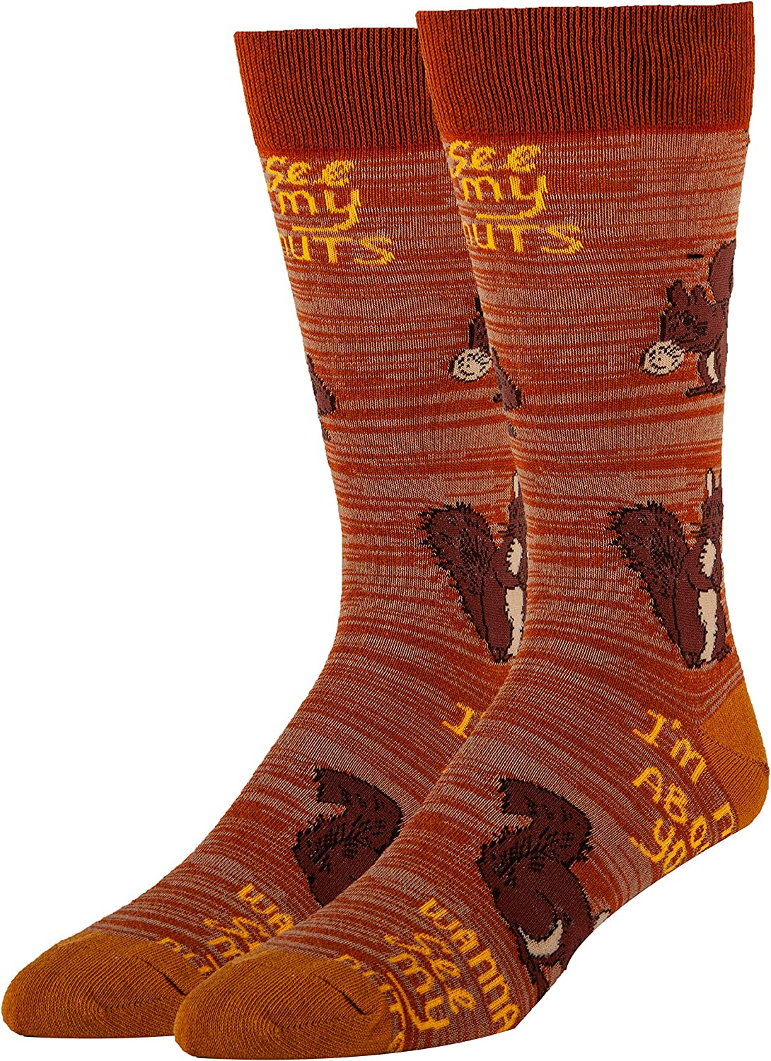 Men's Outlet sale feature Novelty Crew Socks for Adult Oooh Yeah Funny Large discharge sale So Humor Fun