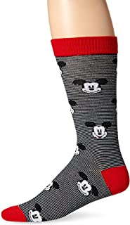 Men's Mickey Mouse Crew Sock Single