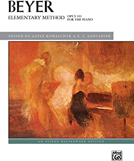 Elementary Method for the Piano, Op. 101 (Alfred Masterwork