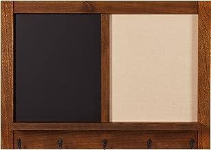Stone & Beam, Tabla de Madera para Mensajes, Chalkboard/Corkboard