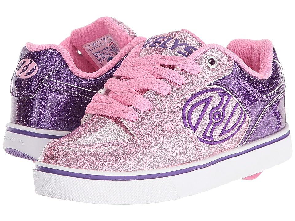 Heelys Motion Plus (Little Kid/Big Kid/Adult) (Purple/Pink Glitter) Kid