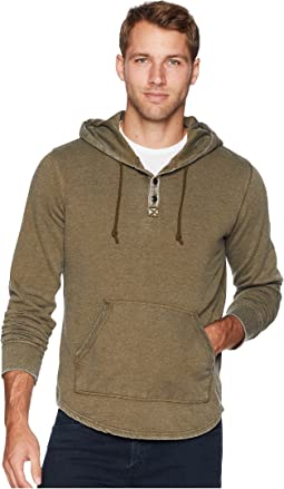 Venice Burnout Hooded Popover
