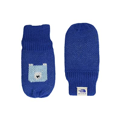 The North Face Kids Faroe Mitt (Infant) (Bright Cobalt Blue/Sky Blue (Prior Season)) Extreme Cold Weather Gloves