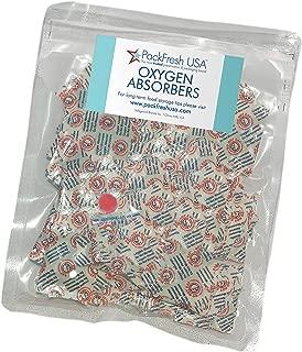 PackFreshUSA 100cc Oxygen Absorbers (100) with PackFreshUSA LTFS Guide
