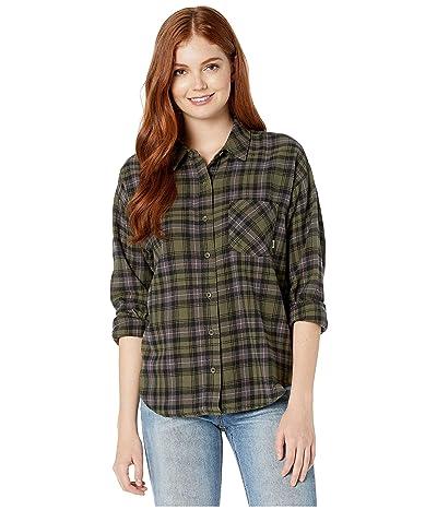 Vans Brimms II Flannel Shirt (Grape Leaf) Women