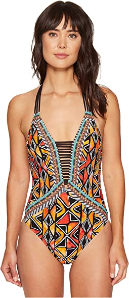 Nanette Lepore Mozambique Goddess One-Piece
