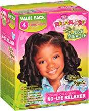 African Pride Dream Kids Olive Miracle Touch-Up Relaxer Regular Value Pack