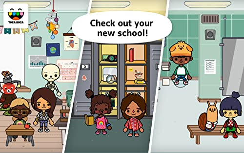 『Toca Life: School』の2枚目の画像