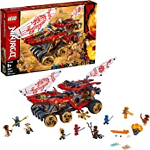 LEGO Ninjago Land Bounty 70677 Toy Truck Building Set with Ninja Minifigures, Popular Action Toy with Two Toy Vehicles and Toy Ninja Weapons for Creative Play, New 2019 (1178 Pieces)